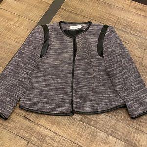 Calvin Klein open front blazer